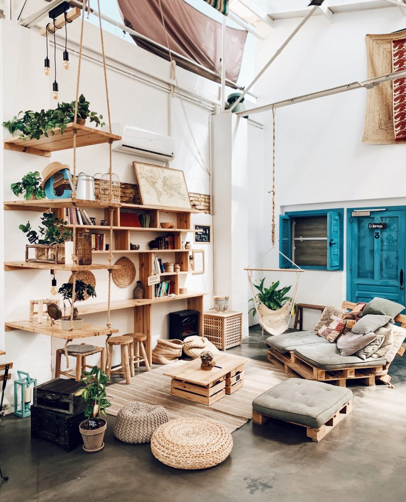 Bohemian Minimalism interior design style