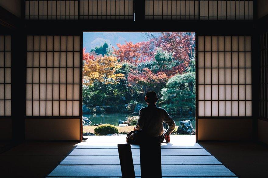 Japanese minimalism nigative space