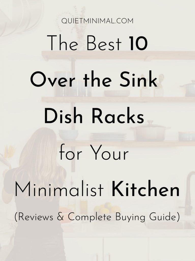 best over sink dish racks