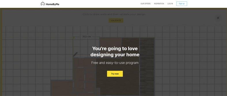 HomeByMe - Best Design & Interior Decoration App - Free