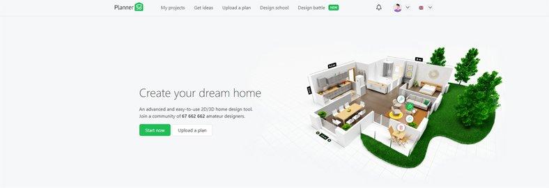 Planner 5D  - Best 2D & 3D Interior & Exterior Design Software - Free