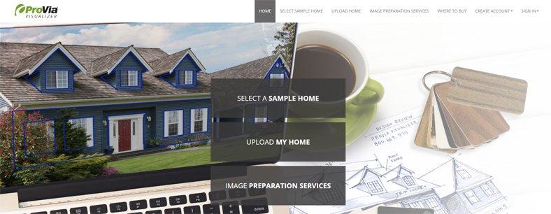 Provia Visualizer - Best Free Exterior Home Design Software