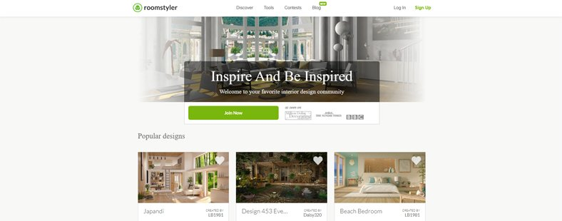Roomstyler 3D Home Planner - Best Free Kitchen & Home Design Software for Beginners