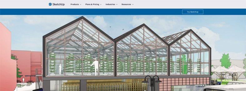 SketchUp - Best Free 3D Architectural Design Software