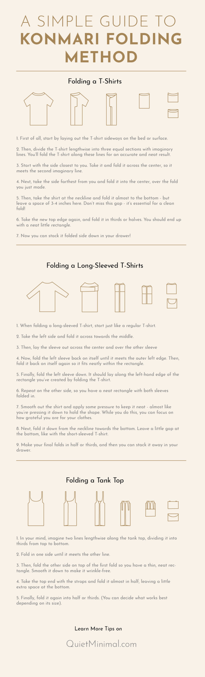 Konmari Folding Method