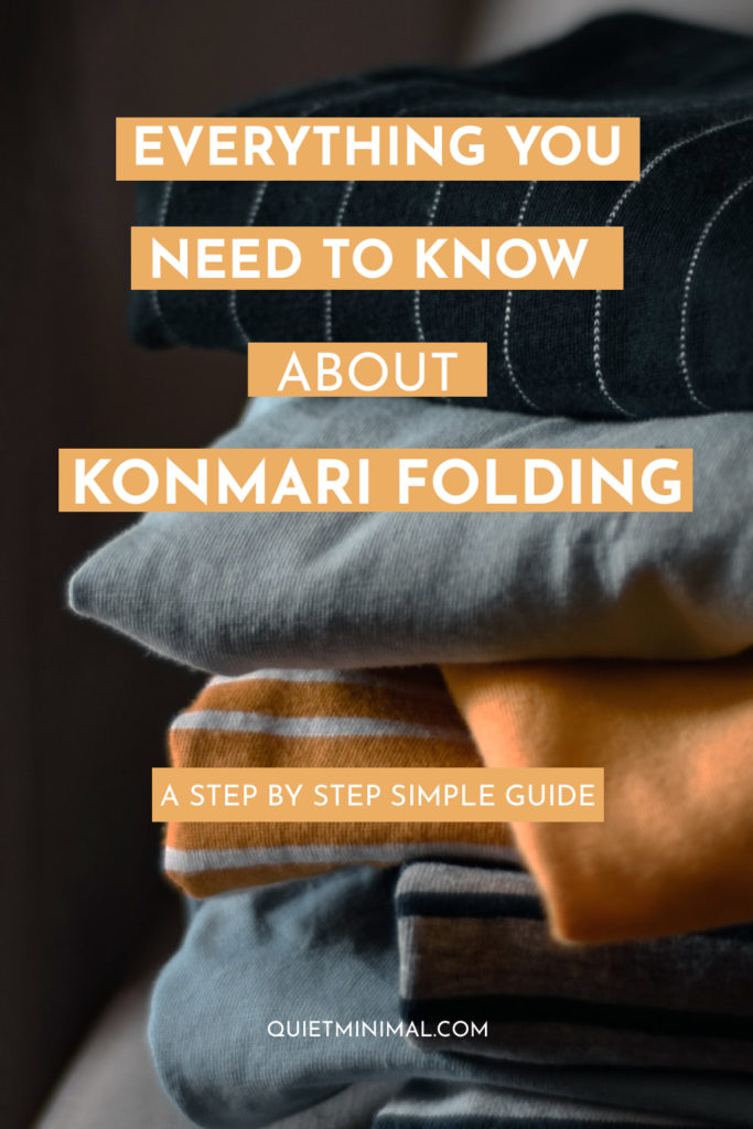 Everything you need to know about the Konmari folding method