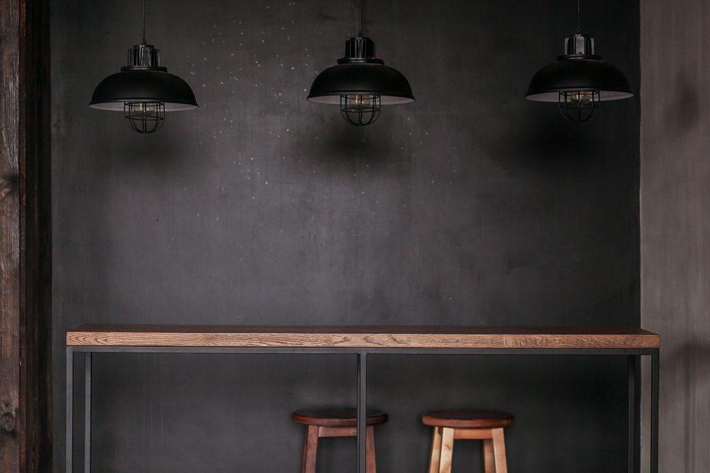 Bar table, console