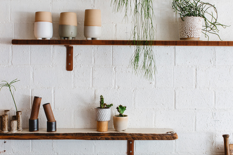Creating a cozy minimalist home, experiment with open shelving