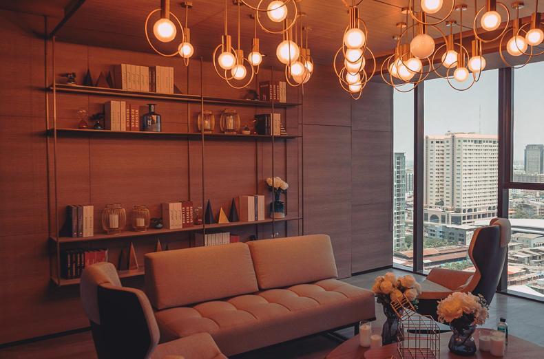 Creating a cozy minimalist home, lighting
